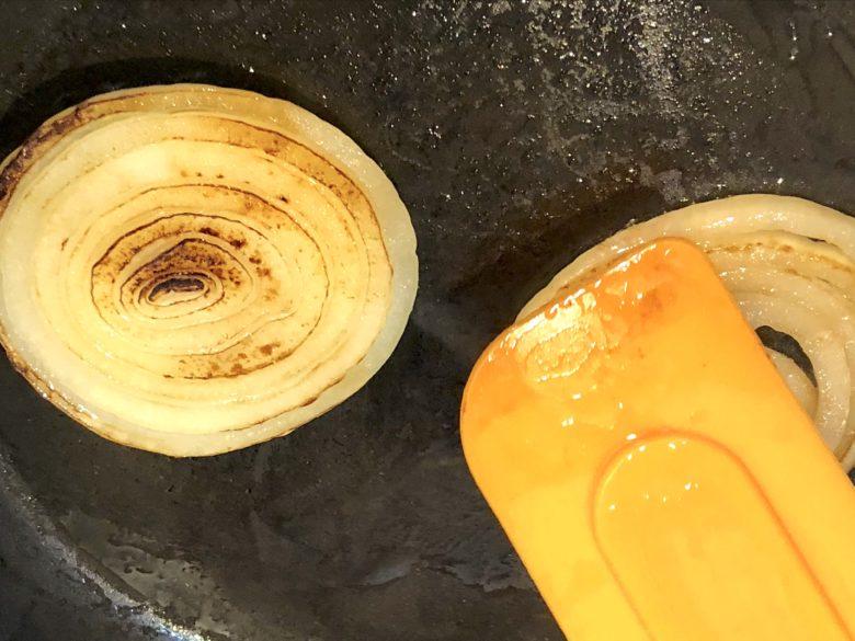 玉ねぎの焼き上がりのイメージ